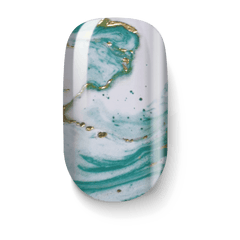 Golden Green Marble