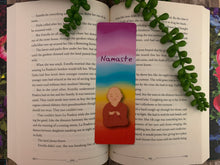 Load image into Gallery viewer, Set of 3 Rainbow Buddha Bookmarks