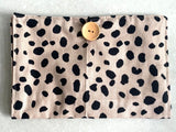 Animal Print Nappy Wallet