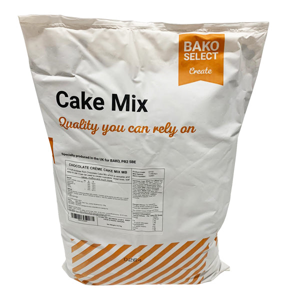 Bako Select Chocolate Crème Cake Mix 12.5kg