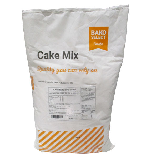 Bako Select Plain Creme Cake Mix 12.5kg