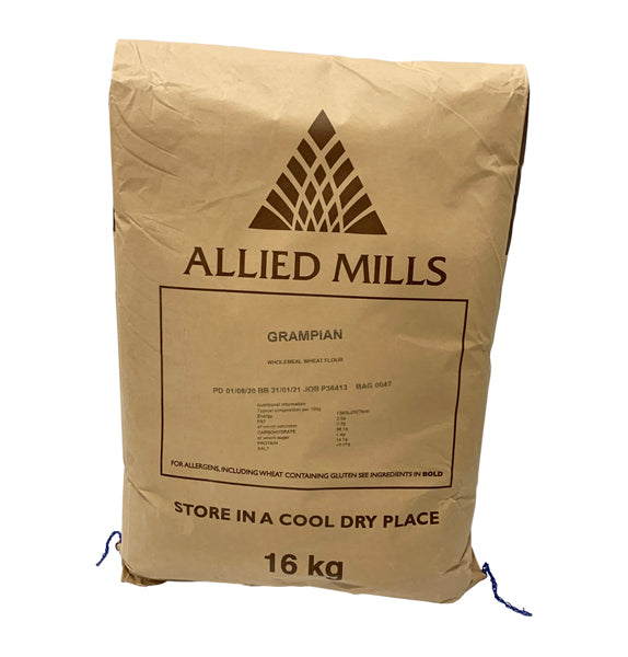Allied Mills Grampian Wholemeal Flour 16kg