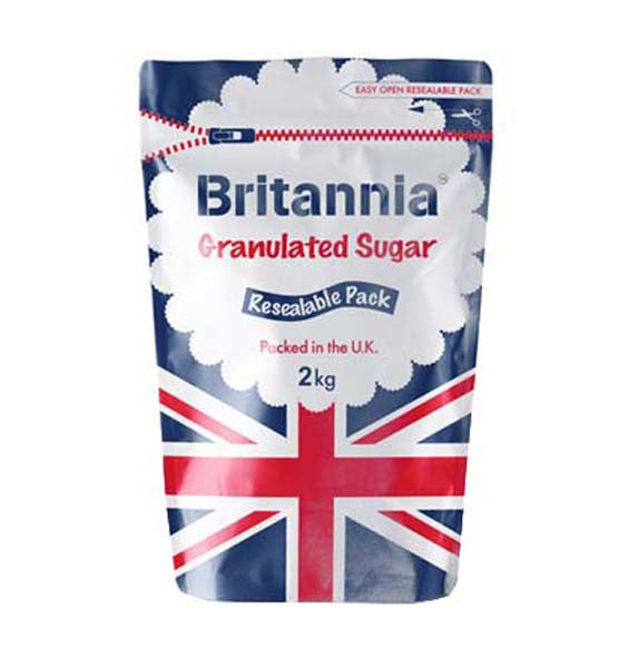 Britannia White Granulated Sugar 2kg