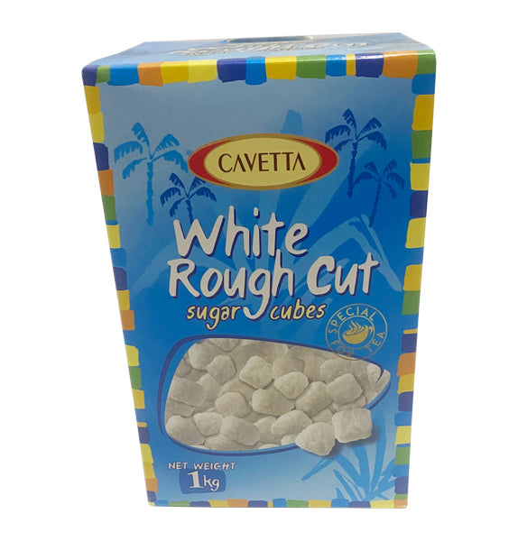 Cavetta White Granulated Rough Cut Sugar Cubes 1kg
