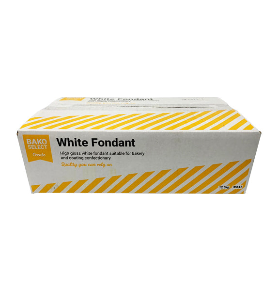 Bako Select White Fondant 12.5kg