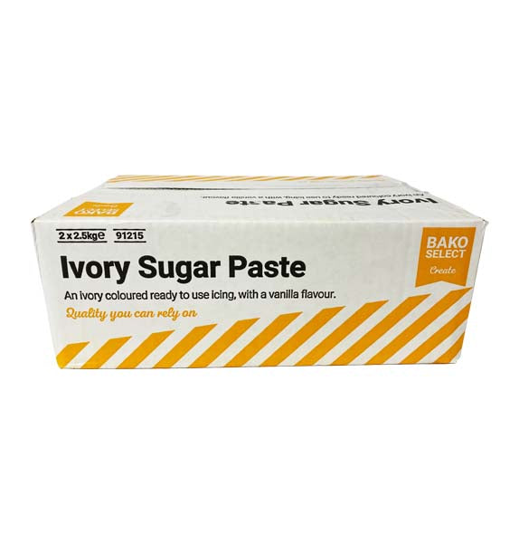 Bako Select Ivory Sugar Paste (2 x 2.5kg) 5kg Box