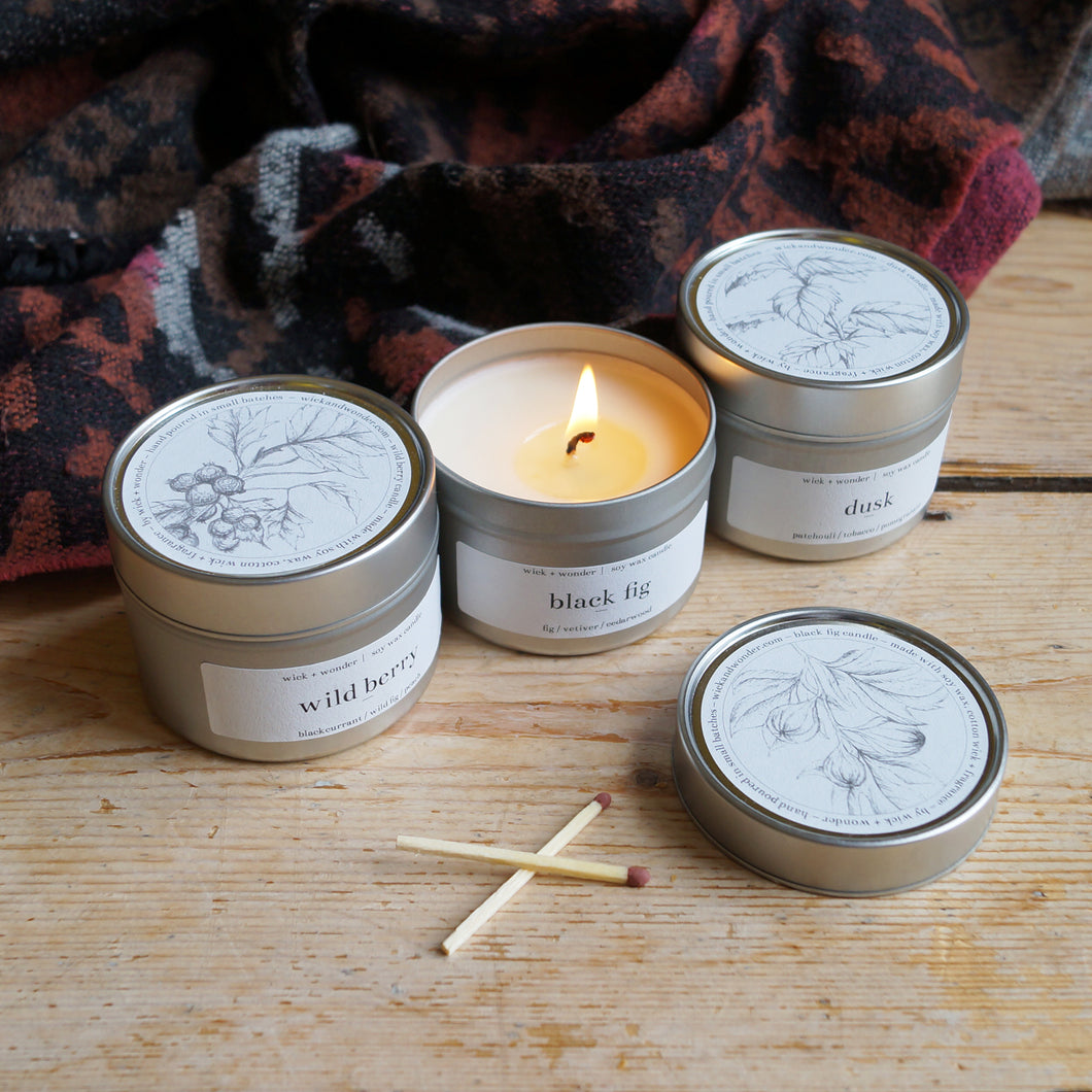 winter bundle – black fig, wild berry + dusk