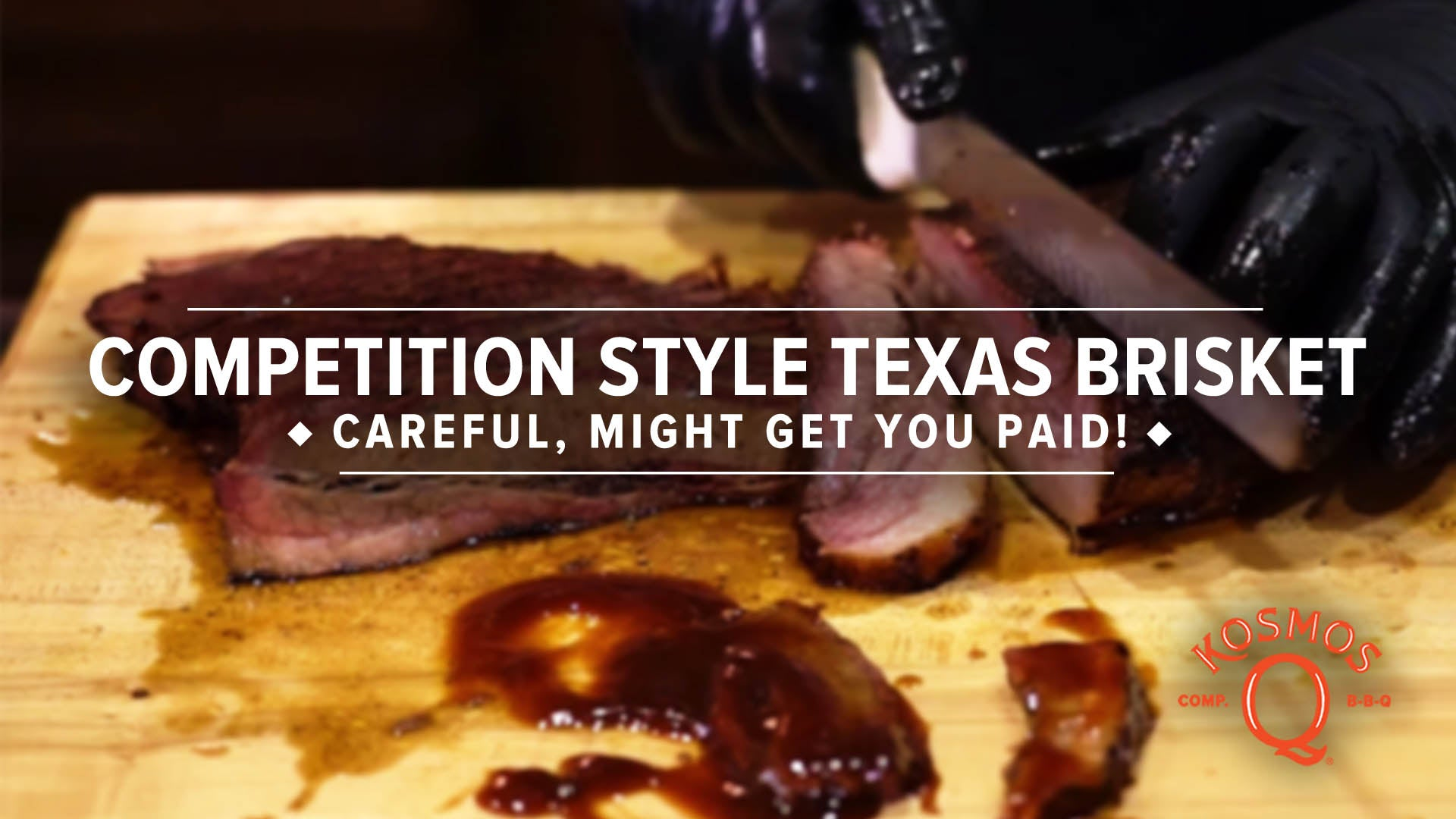 The PERFECT Competition Texas Brisket!