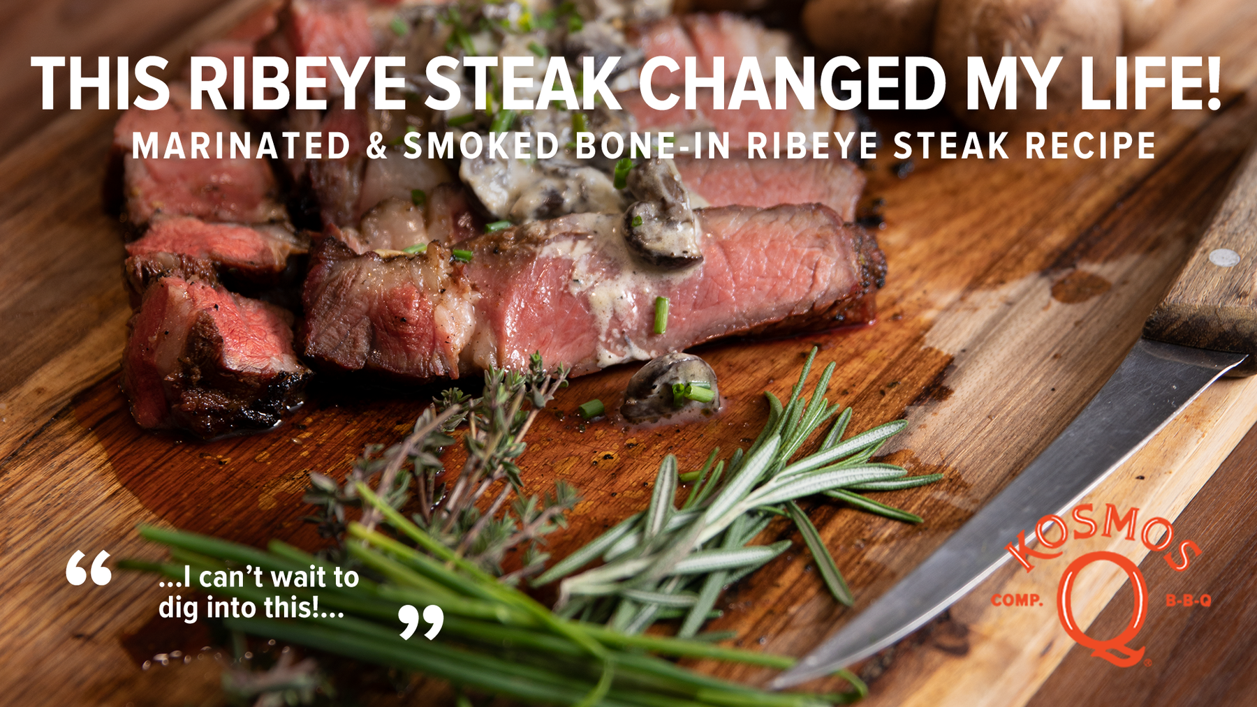 Life-changing Ribeye Steak