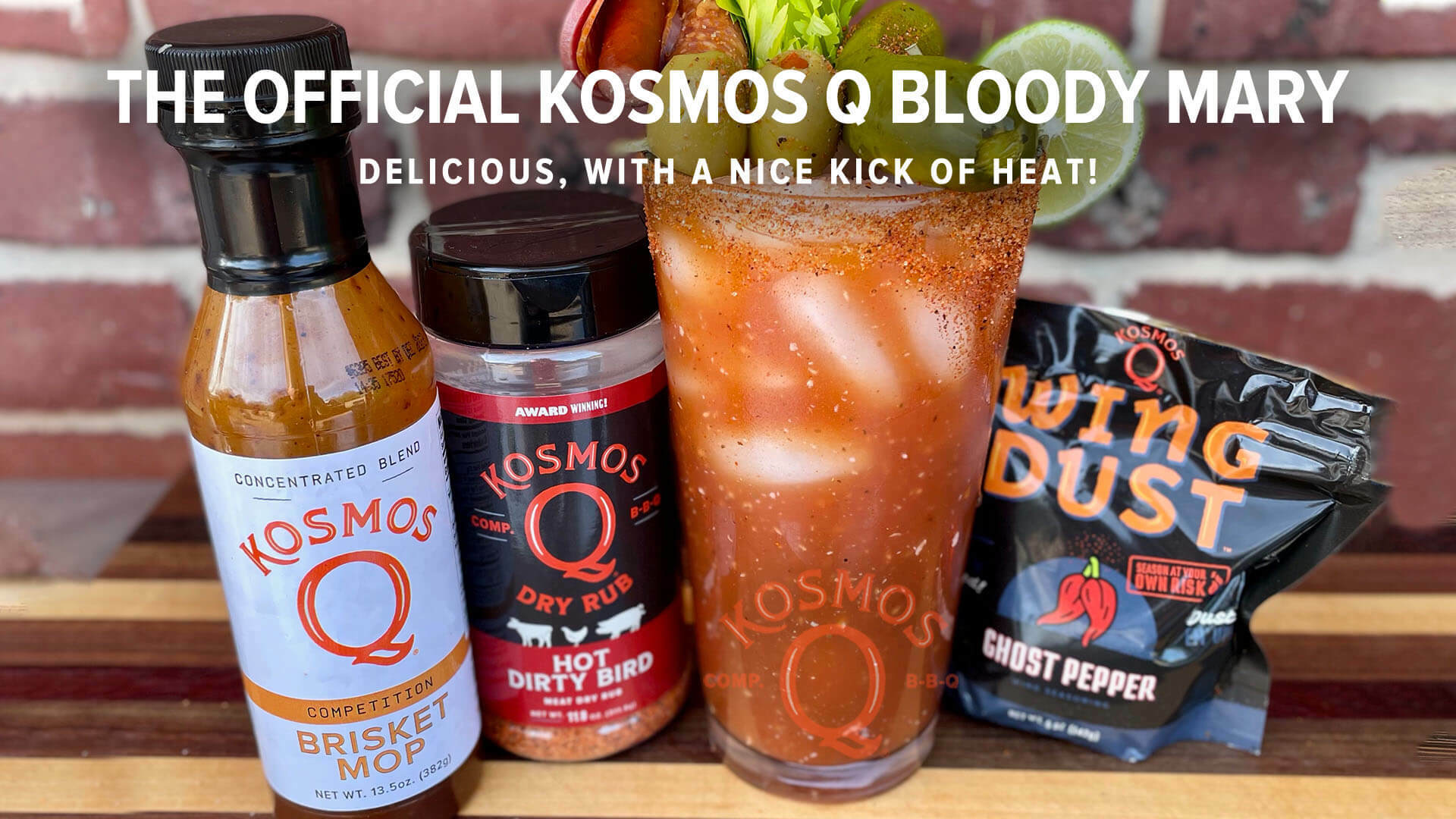 The Official Kosmos Q Bloody Mary