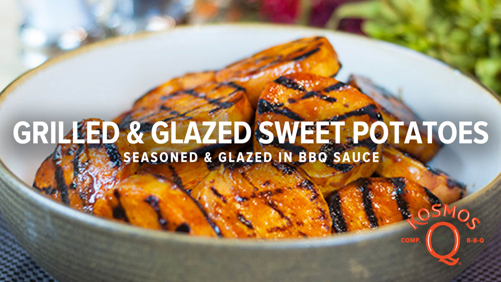 Grilled & Glazed Sweet Potatoes