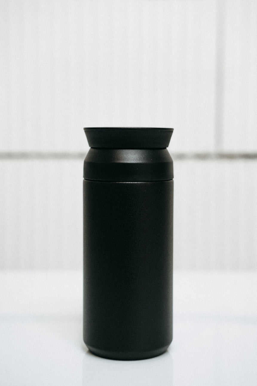 Kinto Travel Tumbler — black 350 ml