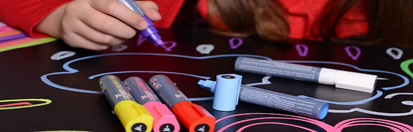 5 ways to cheer someone up with chalk markers