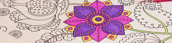 Guide : Where to start with adult colouring