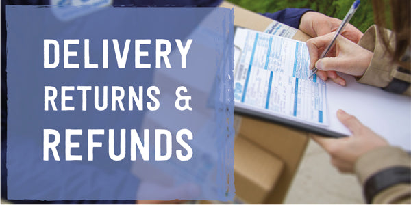Delivery, Returns & Refunds