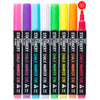 Chalk Pens Pack Of 8 Colours | Dry Wipe | 3mm Fine Nib