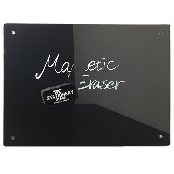 Magnetic Eraser Pack Of 6 | Dry Wipe | Black