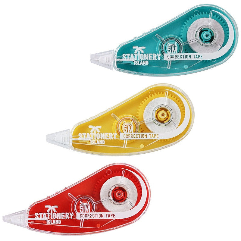Correction Tape Pack Of 3 | 5m x 5mm