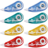 Stationery Island Correction Tape -5mx5mm-  (Pack of 8)