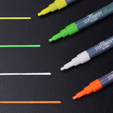 Stationery Island Chalk Pens W30 Wet Wipe 3mm Nib 8 Colours