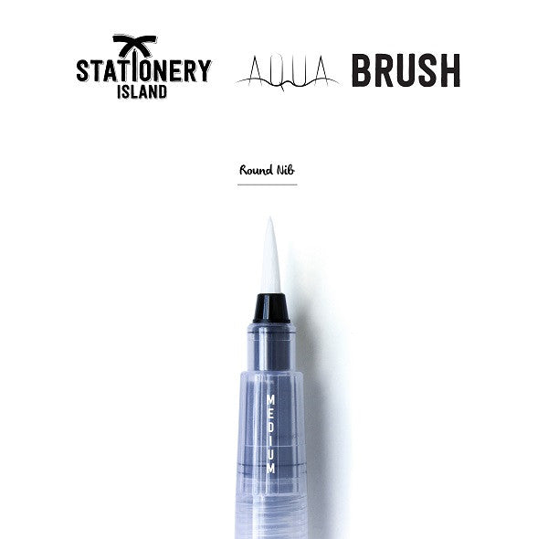 Aqua Brush Pack Of 1 | Medium Round Nib