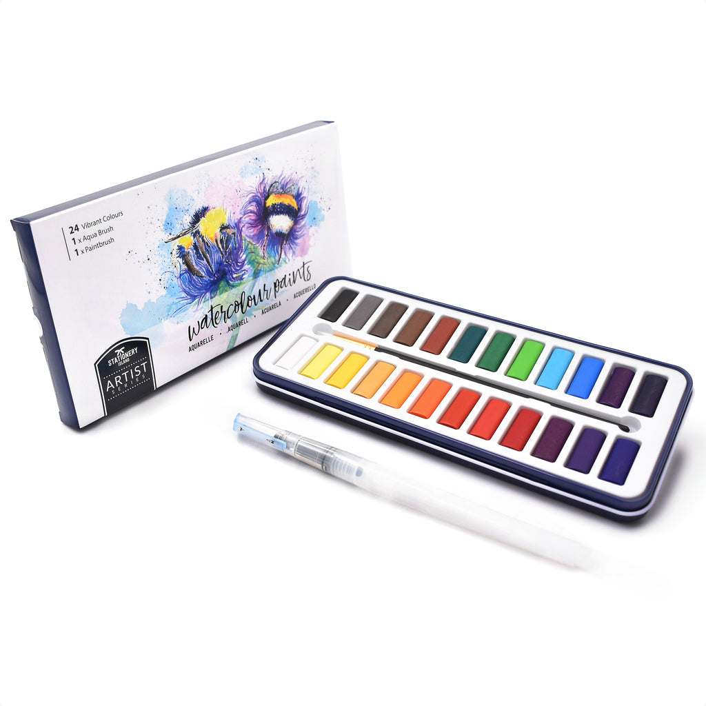 Watercolour Paint | Artist Series | 24 Colours