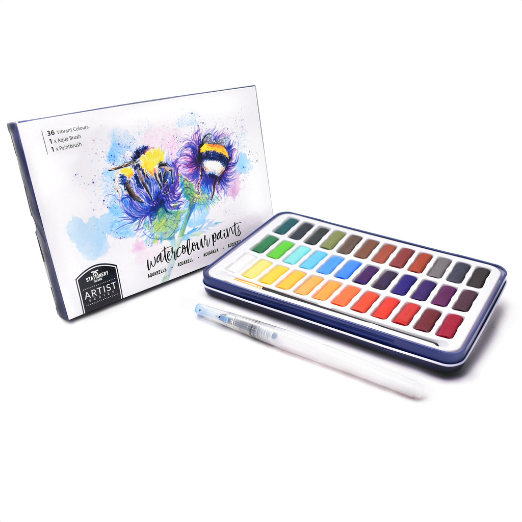 Watercolour Paint Set | Artist Series | 36 Colours