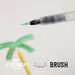 Brush Pens Pack Of 24 + 1 Aqua Brush | Essential Colours