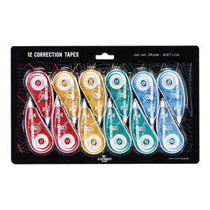 Correction Tape Pack Of 12 | 5m x 5mm