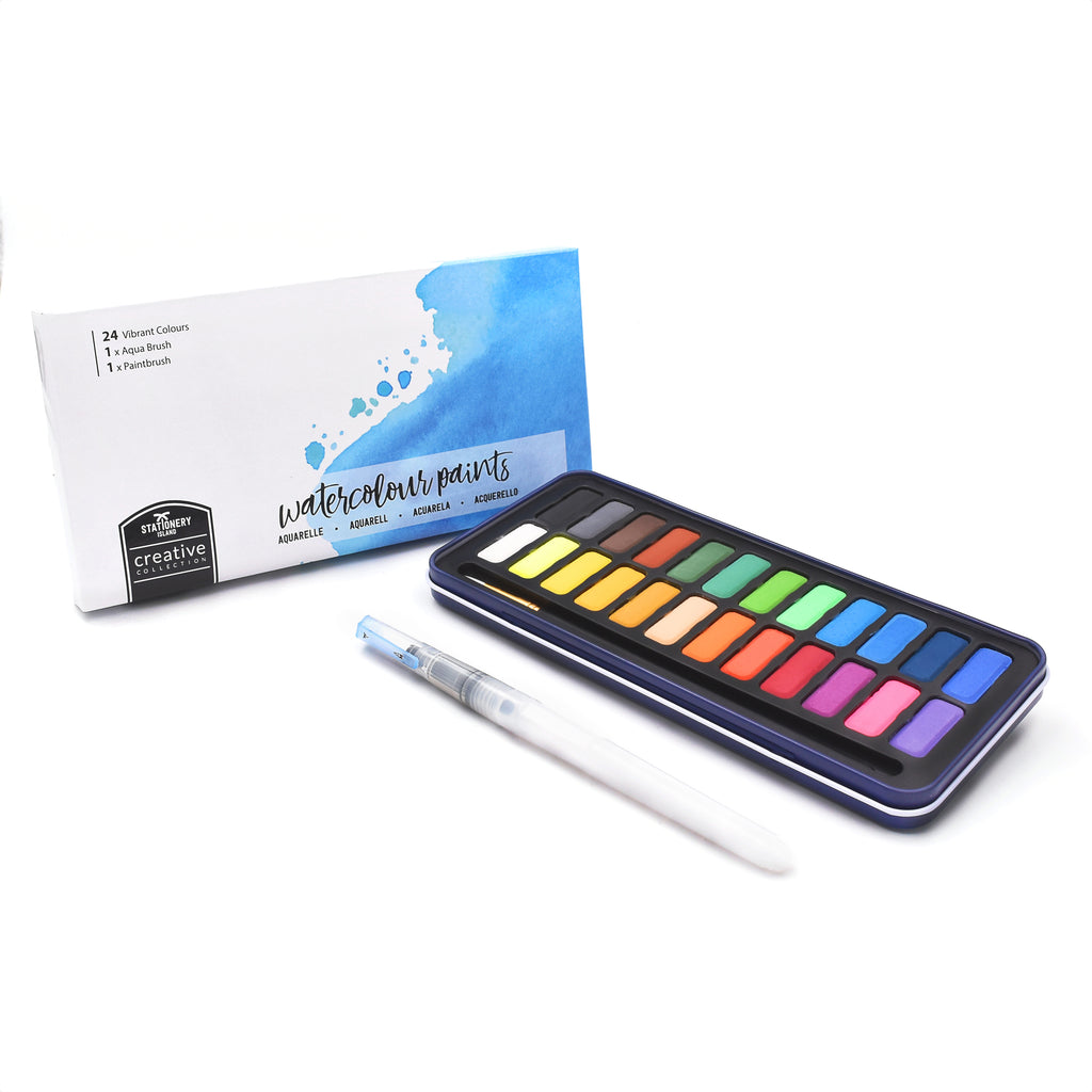Watercolour Paints | Creative Collection | 24 Colours