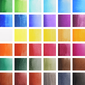 Watercolour Paints | Creative Collection | 36 Colours