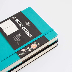 Bullet Journal | A5 Dotted Notebook With Accessories | Hardcover | 120gsm Paper | 180 Pages | Teal