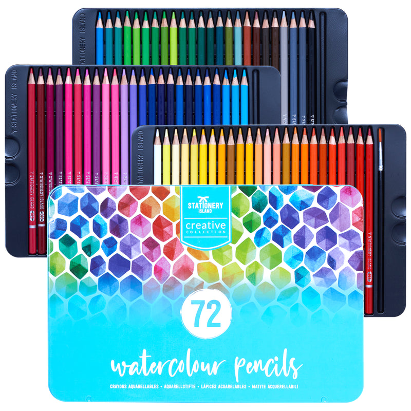 Watercolour Pencils | Creative Collection | 72 Colours