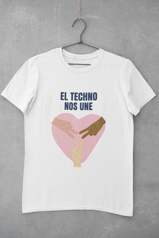 Image of Camiseta El techno nos une