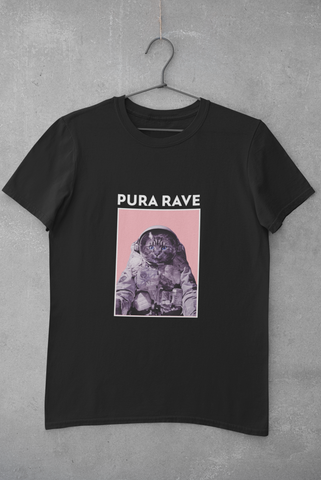 Image of Camiseta Pura Rave - Negro