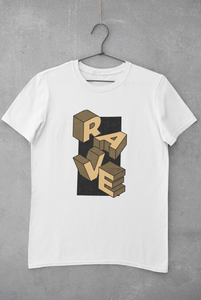 Camiseta Rave Design - Marrón