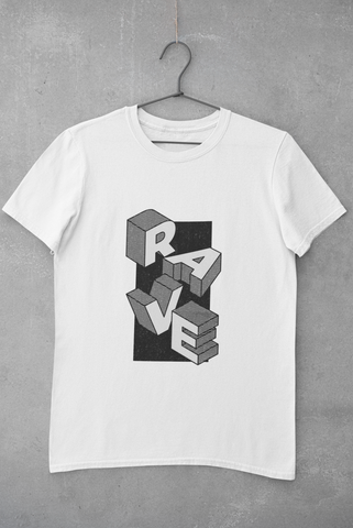 Image of Camiseta Rave Design - Blanco