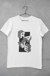 Camiseta Rave Design - Blanco