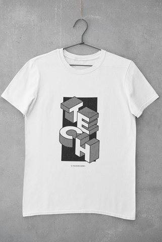 Image of Camiseta Tech Mood - Blanco