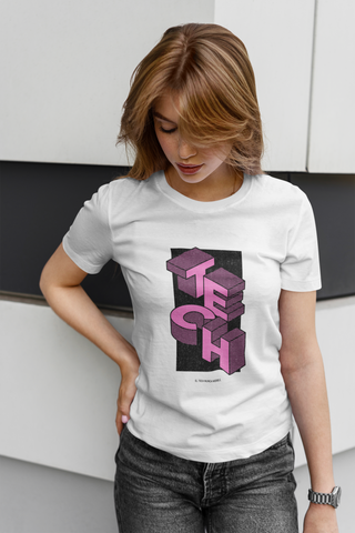 Image of Camiseta Tech Mood - Rosado