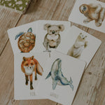 Load image into Gallery viewer, Animals Snap & Go Fish