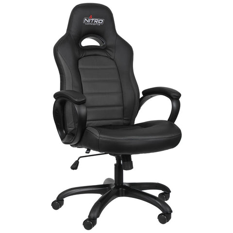 Nitro Concepts C80 Pure Series Gaming Chair - Black - Inertia Computers - 1