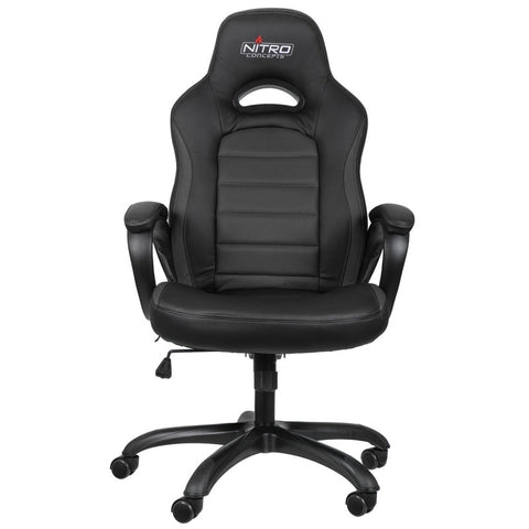 Nitro Concepts C80 Pure Series Gaming Chair - Black - Inertia Computers - 3