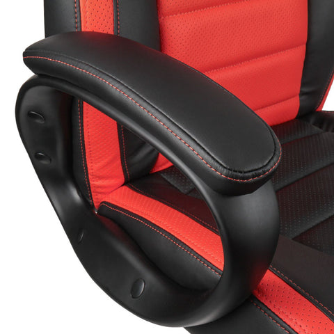 Nitro Concepts C80 Pure Series Gaming Chair - Black/Red - Inertia Computers - 6