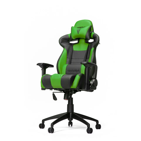Vertagear Racing Series S-Line SL4000 Gaming Chair Black/Green Edition - Inertia Computers  - 1