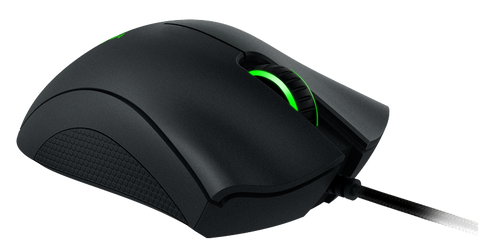 Razer DeathAdder Chroma Gaming Mouse (USB/Black/10000dpi/5 Buttons)