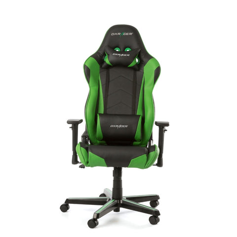 DXRACER Racing Series Gaming Chair - Green OH/RZ0/NE