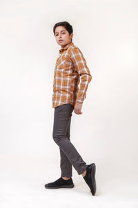 Boys Checkered Shirt