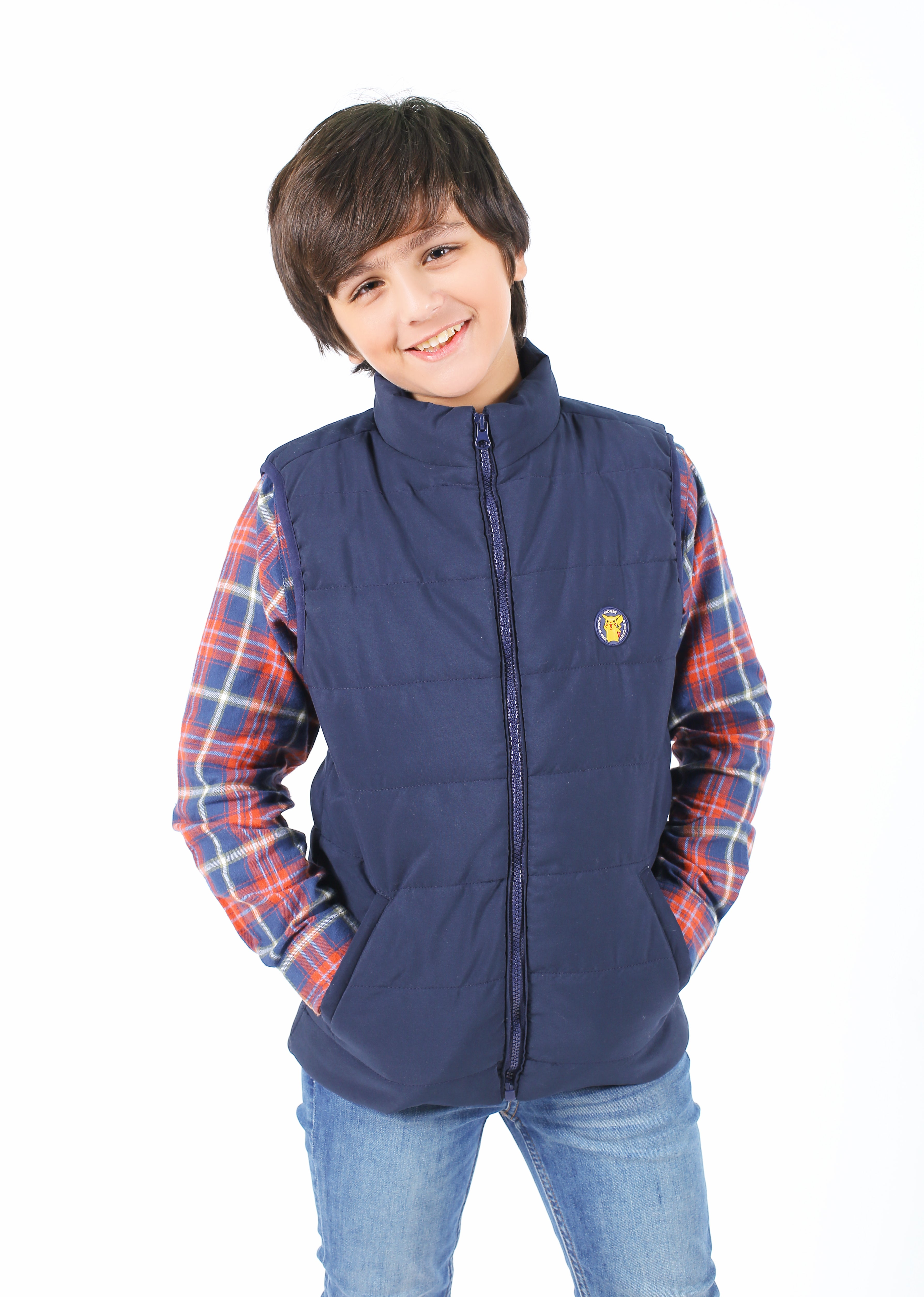 KIDS S/LESS JACKET