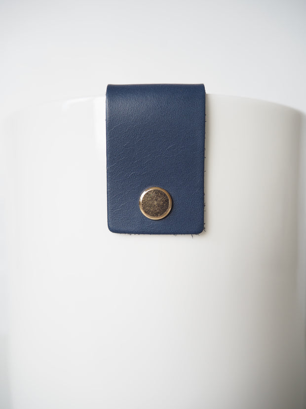 Martin & Cox Pot with Navy Blue Strap